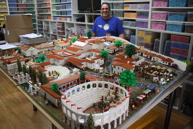 Lego City Pompeii 1