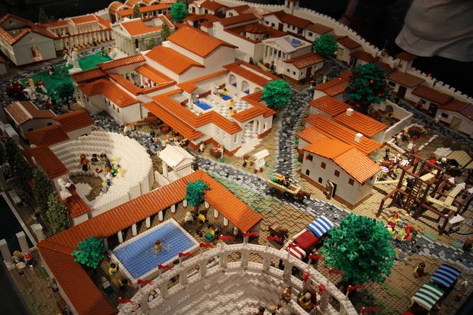 Lego City Pompeii 2