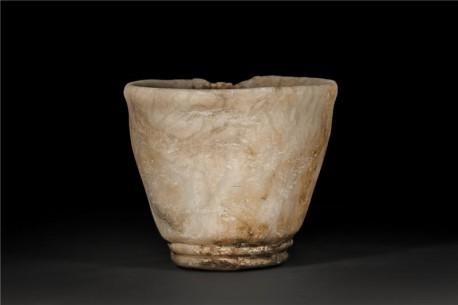 Mesopotamian Alabaster Beaker