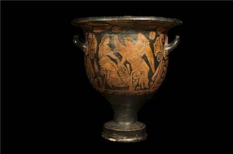 Greek Painted Bell Krater