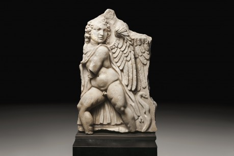 Marble Relief of Eros
