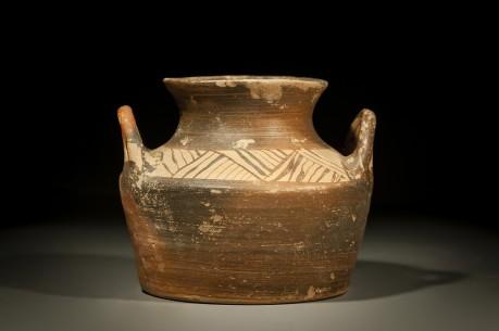 Mycenaean Pyxis