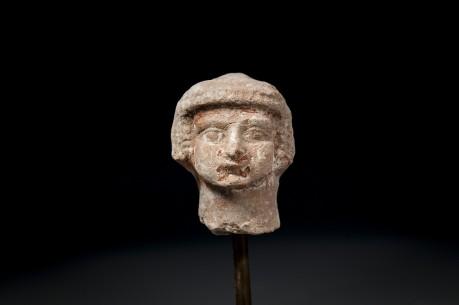 Israelite Terracotta Head of the Fertility Goddess