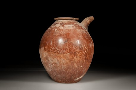 Canaanite Red Slip Spouted Jar