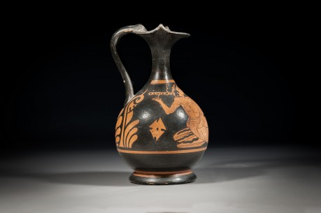 Red Figure Greek Trefoil Lip Olpe