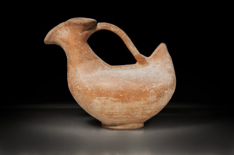 Phoenician Red Slip Askoi (Bird Shaped Vessel)