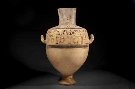 Large Hellenistic Ceramic Hydra