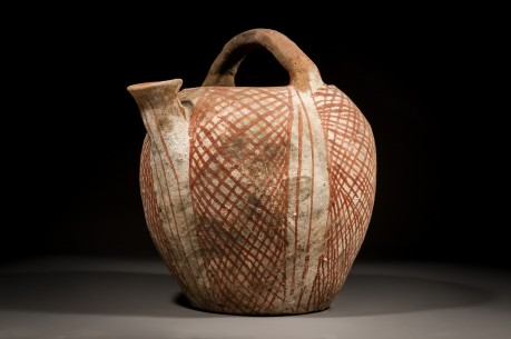 A Canaanite Basket Handle Spouted Jug