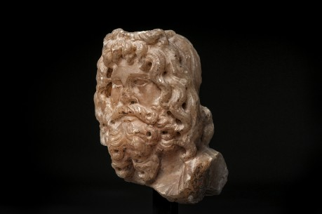Head of the God Serapis