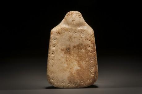 Phoenician Stone Plaque with Head