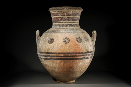 Large Bichrome Cypriot Amphora