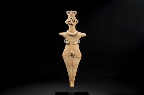 Syro-Hittite Ceramic Fertility Goddess