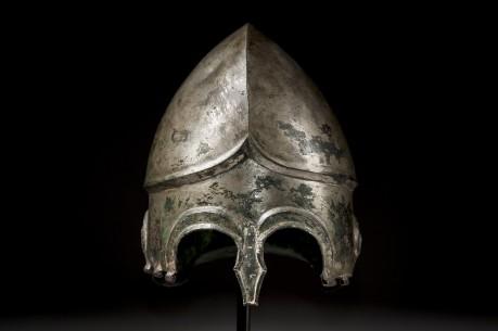 Chalcidian Tinned Bronze Helmet