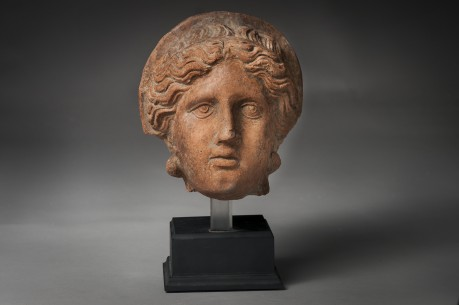 An Etruscan Female Votive Head