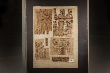 Papyrus Fragments of Egyptian Book of the Dead from Ptolemaic Period