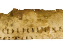 Gospel of Mark in Greek - Fragment of a Manuscript