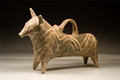 Cypriot Ceramic Bull Rython