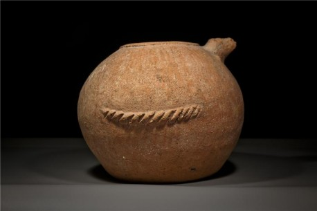 Red Burnished Large Spouted Canaanite Jar