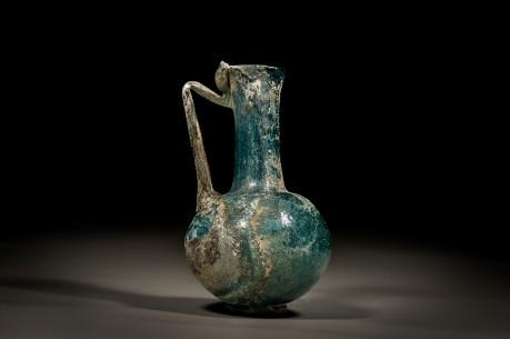 Roman Cobalt Blue Glass Jug
