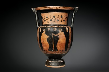 """Red-Figure Column-Krater,Related To """"H.A."""" Painter"""