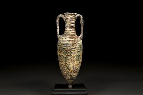 Phoenician Coreformed Glass Amphora