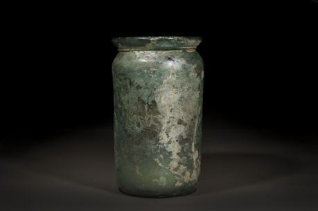 Very Large Roman Glass Urn