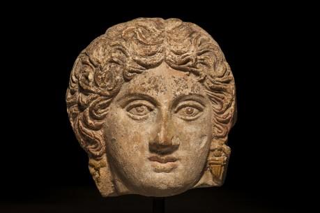Greek Terracotta Head of a Female