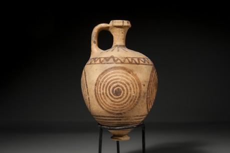 Classic Canaanite Levantine Periform Painted Ware