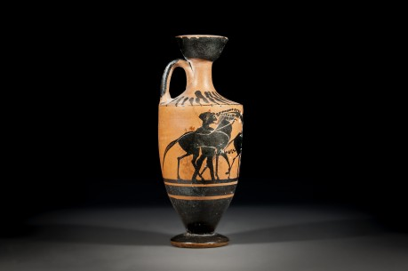 Black Figure Greek Lekythos