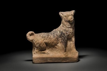 Roman Figurine of a Dog