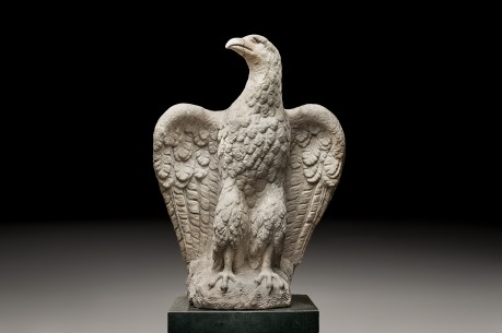 Monumental Imperial Roman Marble Eagle