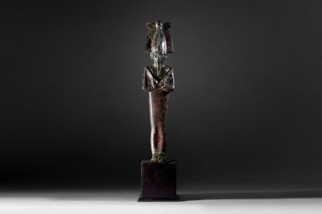 Bronze Statuette of Osiris