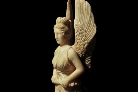 Roman Marble Statuette (Idol) of Greek goddess Nike
