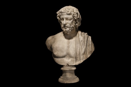 Marble Bust of a Roman Barbarian
