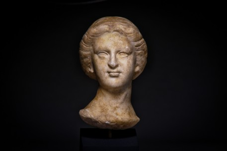 A Roman Marble Head of a Female