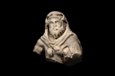 Roman Marble Bust of Hercules