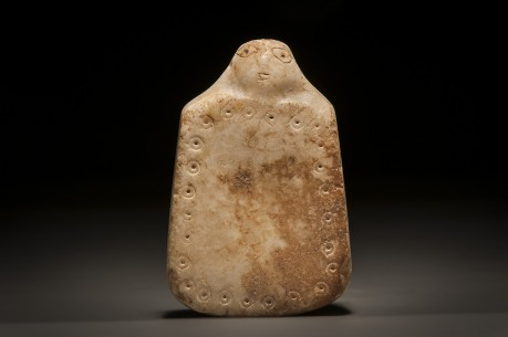 Phoenician Stone Plaque with Head