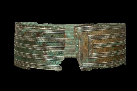 Ancient Urartu Bronze Belt
