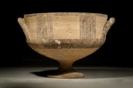 Cypriot Footed Bowl