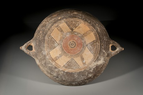 Large Cypro-Phoenician Bichrome Bowl