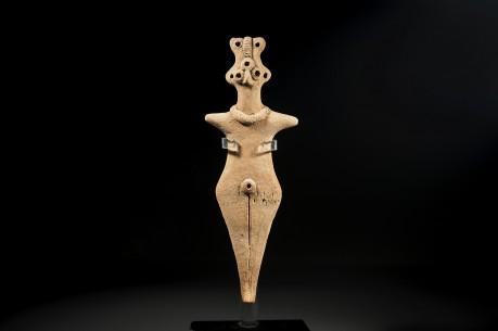 Syro-Hittite Ceramic Fertility Goddess