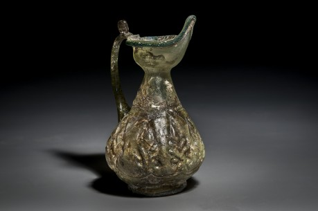 A Beautiful Islamic Glass Jug