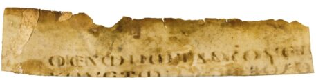 Gospel of Mark in Greek – Fragment of a Manuscript