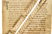 Nine Fragments From Early Liturgical Manuscripts